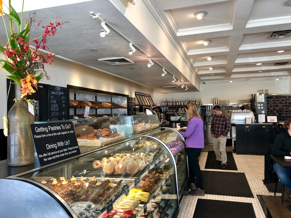 (Brodi Ashton | The Salt Lake Tribune) Fresh pastries fill the glass case at Gourmandise Bakery in Salt Lake City.