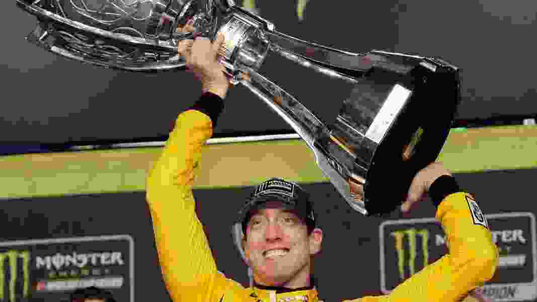 Kyle Busch wins his second NASCAR Cup Series championship