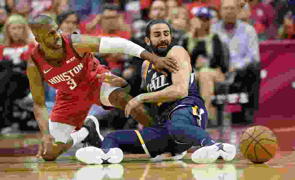 After getting hit in the mouth at the start of games, Jazz say it's time to beat Rockets to the punch