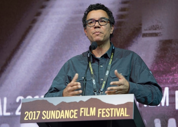 Rick Egan | The Salt Lake Tribune Peter Nicks receives the Directing Award: U.S. Documentary for his film ÒThe Force,Ó at the 2017 Sundance Film FestivalÕs Awards Ceremony, Saturday, January 28, 2017.
