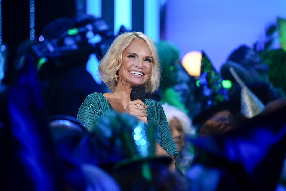 "Kristin Chenoweth during taping of the special ""A Very Wicked Halloween: Celebrating 15 Years on Broadway."""