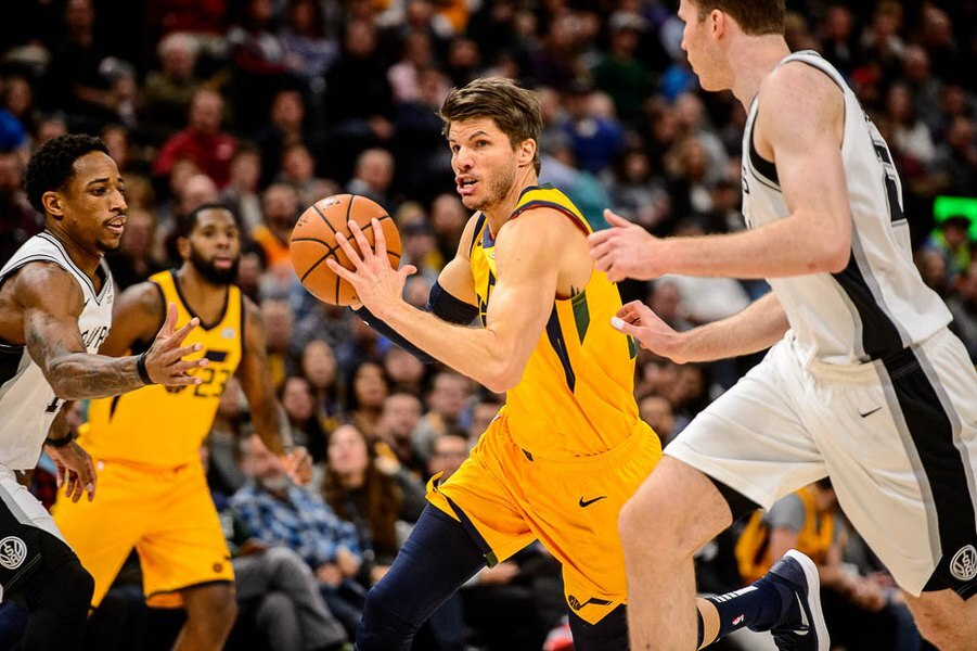 09eefe4b3 The Jazz are now making 3-pointers they were missing earlier. Is there a  Kyle Korver effect