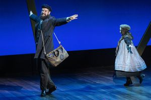 """(Rick Egan   The Salt Lake Tribune) Aaron Galligan-Stierle plays Tateh and Zoe Galligan-Stierle plays the Little Girl, in """"Ragtime"""" at the Utah Shakespeare Festival in Cedar City, on Saturday, July 3, 2021."""