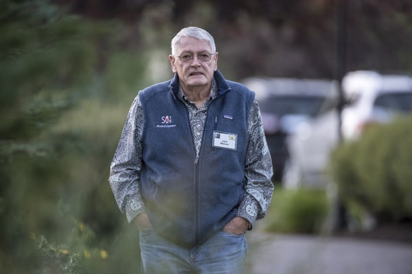 (David Paul Morris | Bloomberg) John Malone, chairman of Liberty Media, at the Allen & Co. Media and Technology Conference in Sun Valley, Idaho, on July 7, 2016.