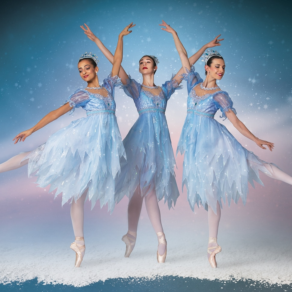 (Courtesy photo by Beau Pearson) | Ballet West dancers in newl costumes for the snow scene in