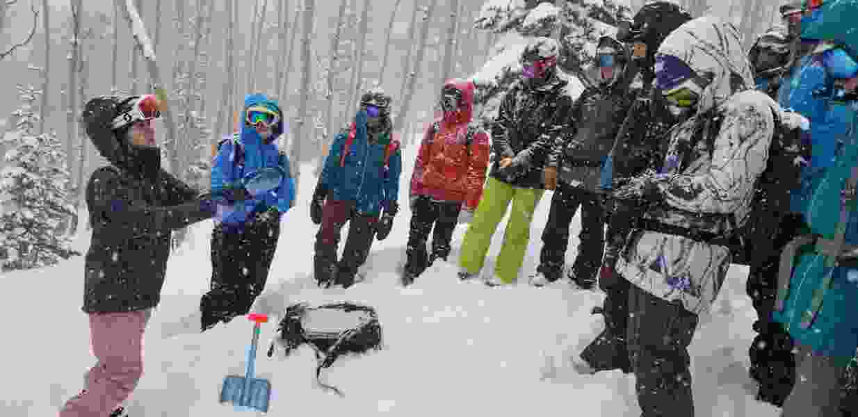 Female pro backcountry skiers imbue fear, education through avalanche safety clinics