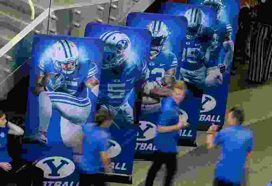 The far-flung American Athletic Conference may soon have a football opening. Should BYU be interested in it?