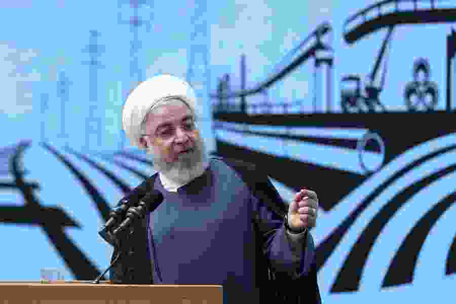 Iranian president to Trump: First lift sanctions, then let's talk