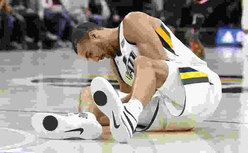 Rudy Gobert to miss at least four weeks for Utah Jazz with bone bruise in right leg