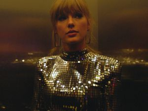 """(Sundance Institute via AP)  A scene from """"Taylor Swift: Miss Americana,"""" an official selection of the Documentary Premieres program at the 2020 Sundance Film Festival."""