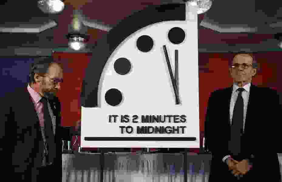 The good news is the Doomsday Clock isn't moving