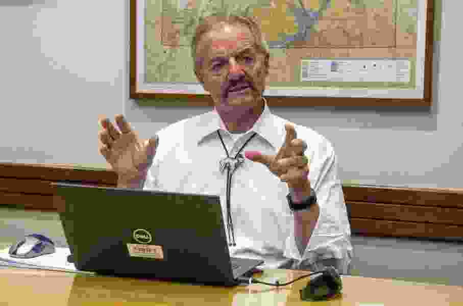 Pendley says he's still on the job as acting director of BLM