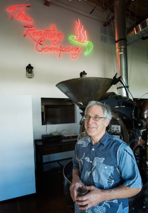 John Bolton, owner of the Salt Lake Roasting Company at the new location on June 23, 2017.