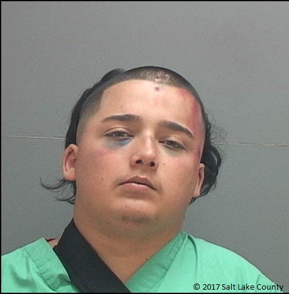 Argenis Ramirez-Saedt (Photo courtesy Salt Lake County jail)