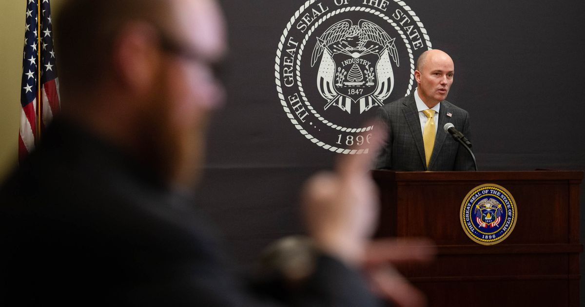 Gov. Spencer Cox urges Utahns to not 'make a fool of yourself' when statewide mask mandate ends - Salt Lake Tribune