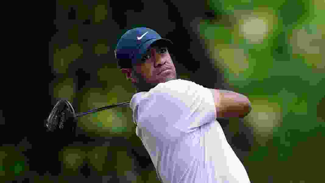 Utah's Tony Finau opens the PGA Championship with an even-par 70, via an eagle and two bogeys.