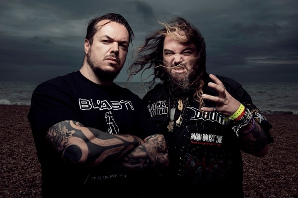 | Courtesy From left, brothers Iggor and Max Cavalera, best known from their time with the Brazilian heavy metal band Sepultura, will be playing that group's classic 1996 album