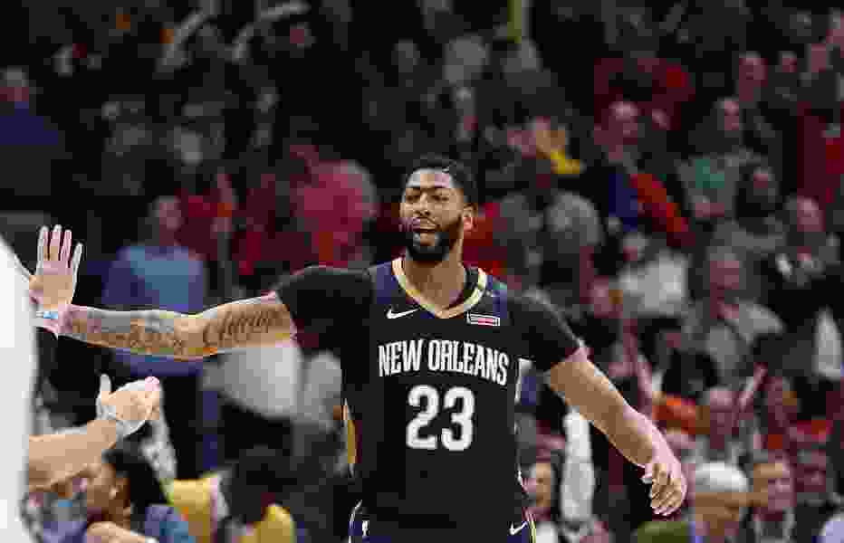 Jazz get a boost when New Orleans star Anthony Davis sits out