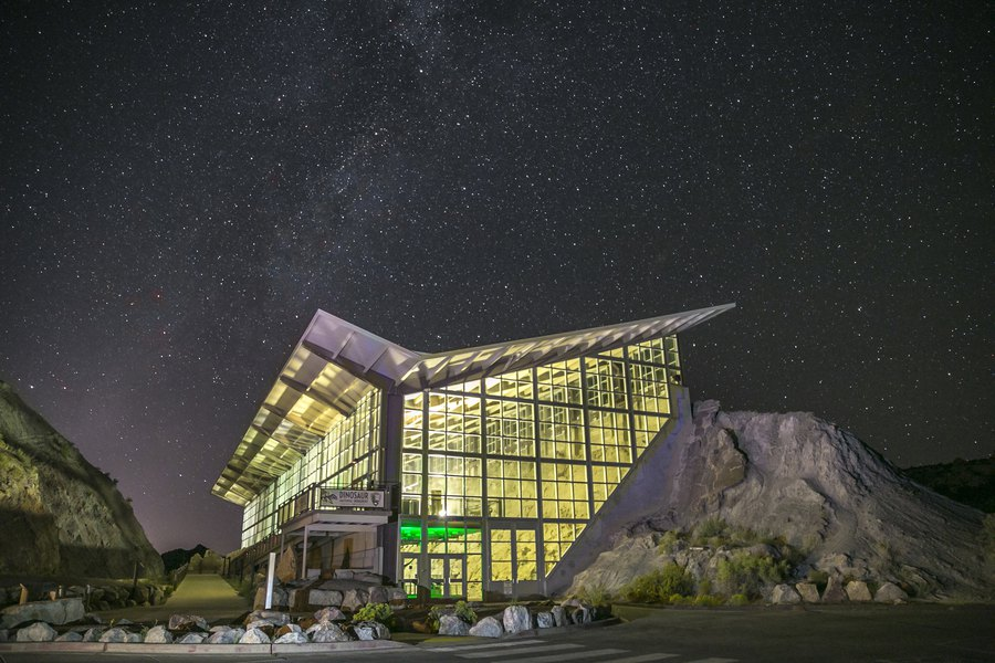 Dinosaur National Monument is named a 'Dark Sky Park,' where visitors can see the Milky Way at night