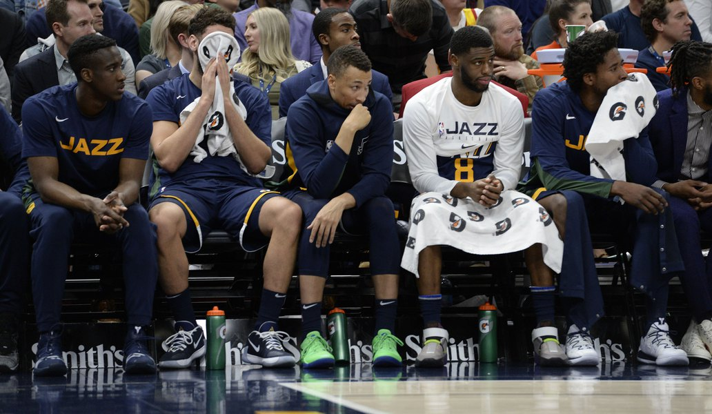 The Triple Team: The Jazz bench was bad, but the Warriors were worse on Friday