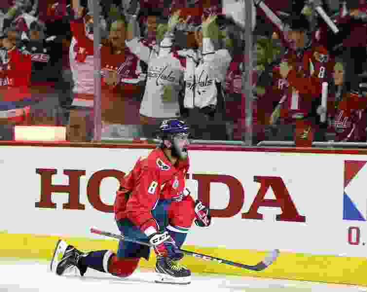 Images of emotional Alex Ovechkin chronicle Capitals' ride through the NHL playoffs