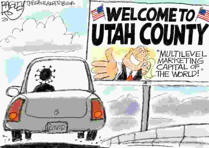 Bagley Cartoon: Utah Skills
