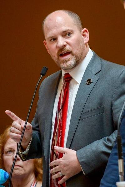 Leah Hogsten | The Salt Lake Tribune l-r We don't know if that language pushes this bill into the overly broad or overly vague area of unconstitutionality, said Sen. Daniel Thatcher, R- West Valley City, in opposing an amendment to SB103. Thatcher's SB103 moved ahead in the Senate on Monday with a preliminary 19-9 vote. It would allow judges to increase penalties for a crime if a defendant is convicted of targeting someone based on ancestry, disability, ethnicity, gender identity, national origin, race, religion or sexual orientation. A person must first be convicted of a crime before additional penalties would apply. There have been no successful convictions under the state's current hate crimes law.