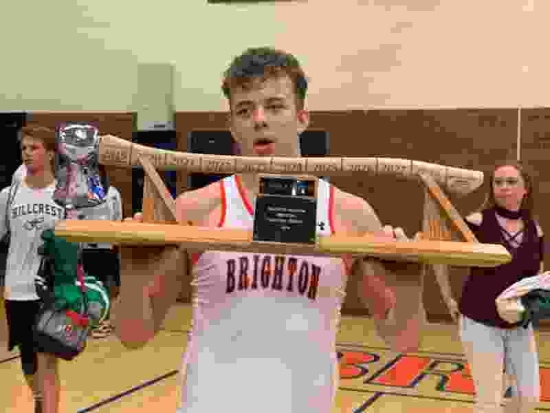Brighton freshman takes home the prize in 50th annual Battle of the Ax
