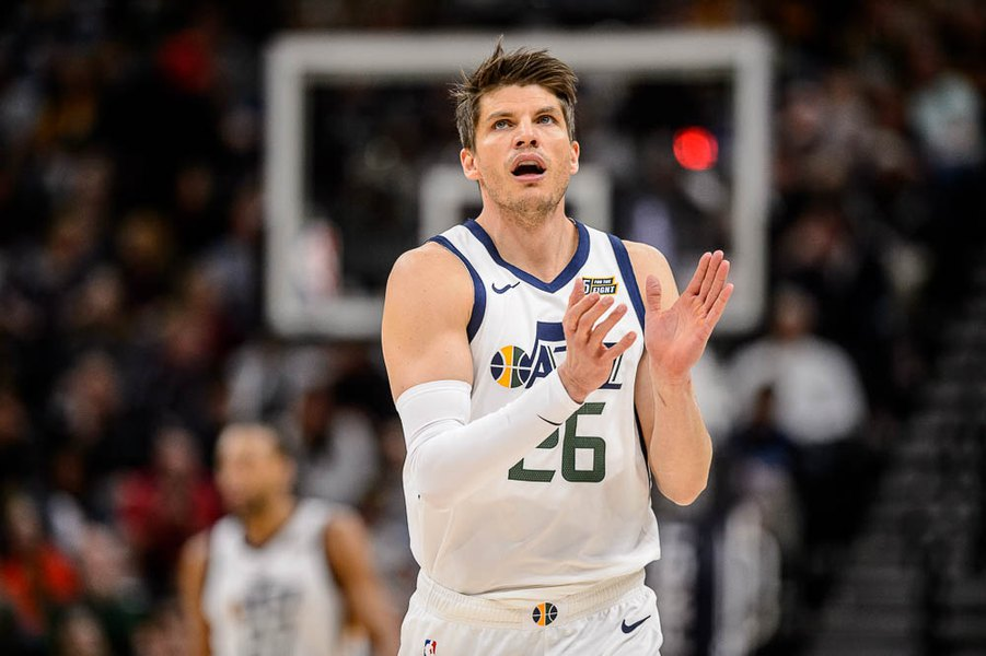 new products dc216 e79f7 Kyle Korver has been Quin Snyder's creative new weapon this ...