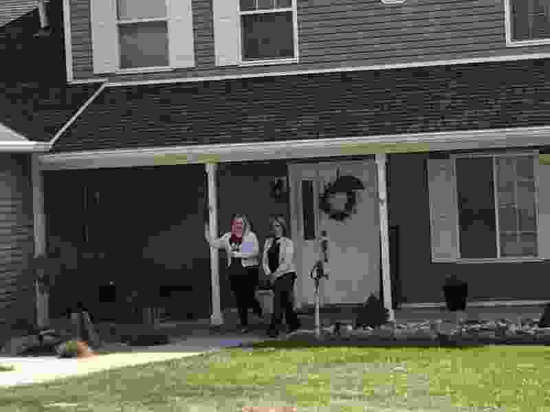 Polygamy foes go door to door in a Utah neighborhood with polygamists to talk 'bigamy reform'