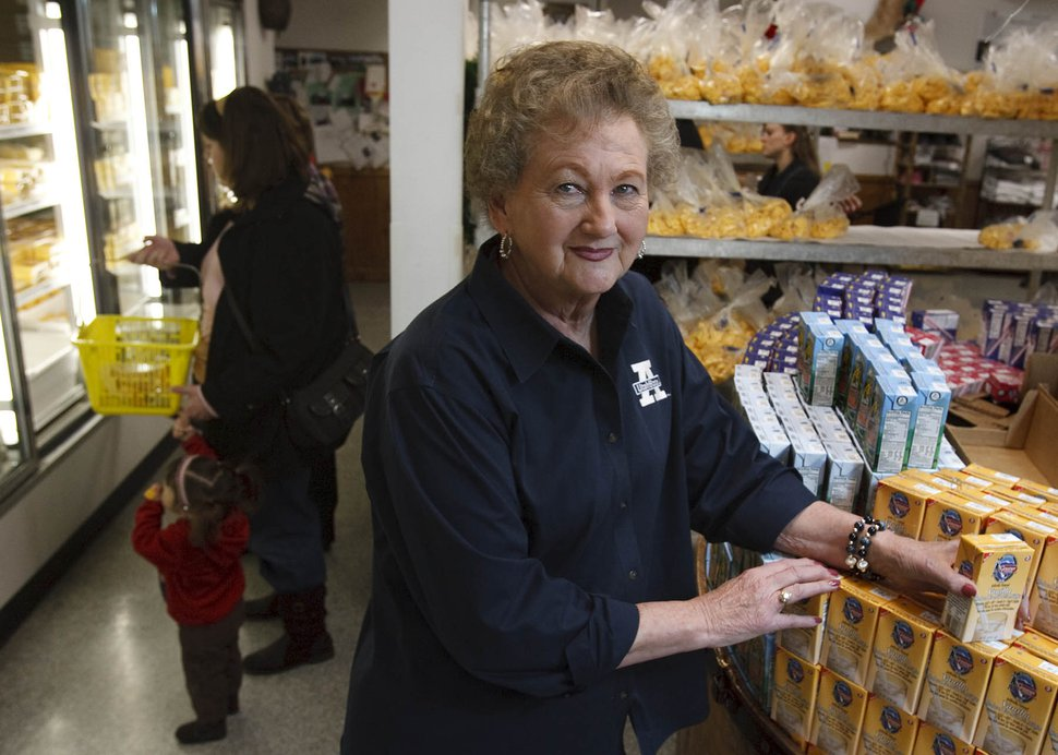 (Leah Hogsten | The Salt Lake Tribune) Delores Gossner Wheeler, president of Gossner Foods, Inc., in 2010.
