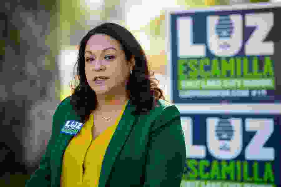 Escamilla unveils new clean air policies, receives backing from former rival in Salt Lake City mayoral race