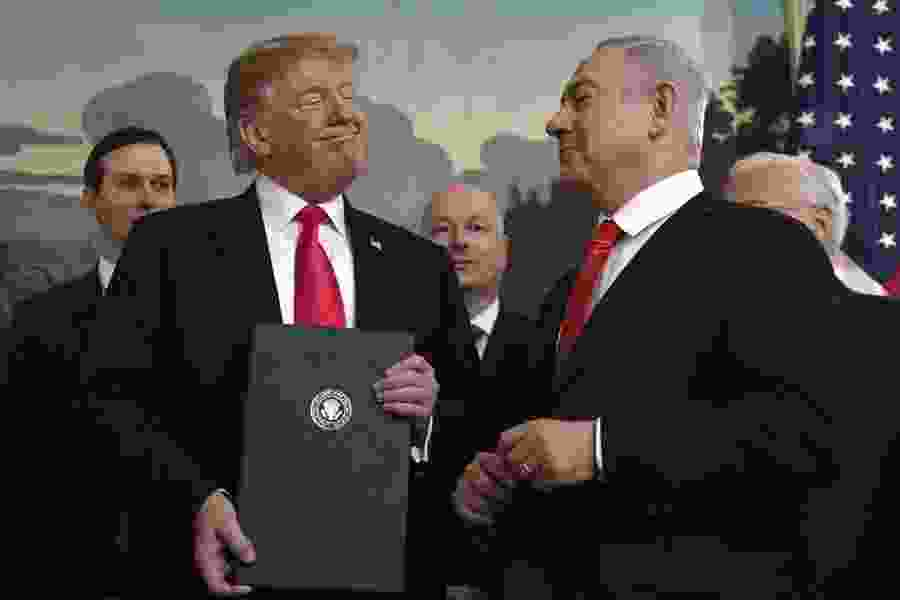 Thomas L. Friedman: If you think Trump is helping Israel, you're a fool