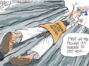 Hang In There! | Pat Bagley