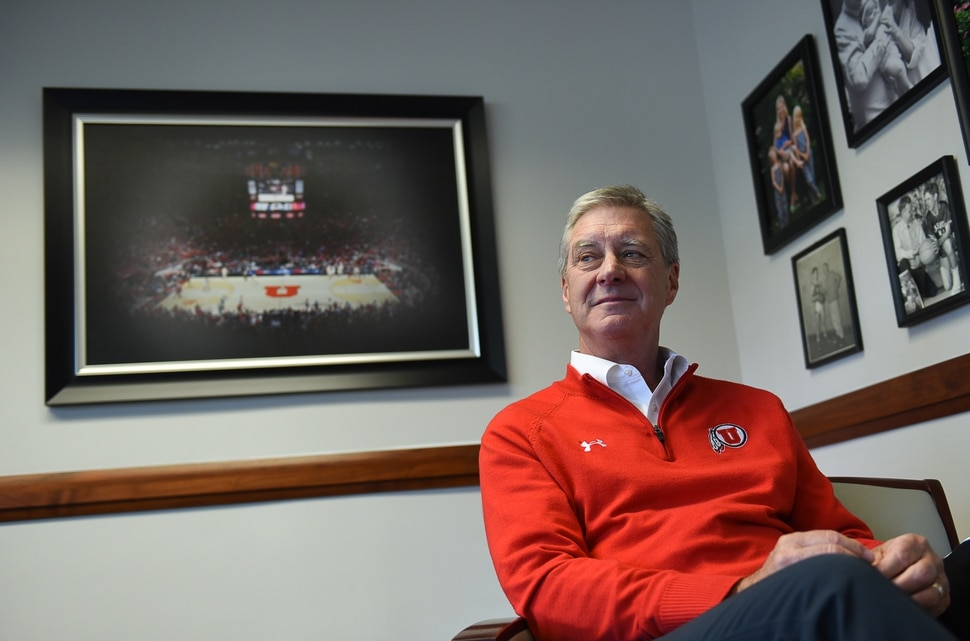 (Francisco Kjolseth | The Salt Lake Tribune) University of Utah athletic director Chris Hill reflects on his time at the U as he approaches his 30th work anniversary.