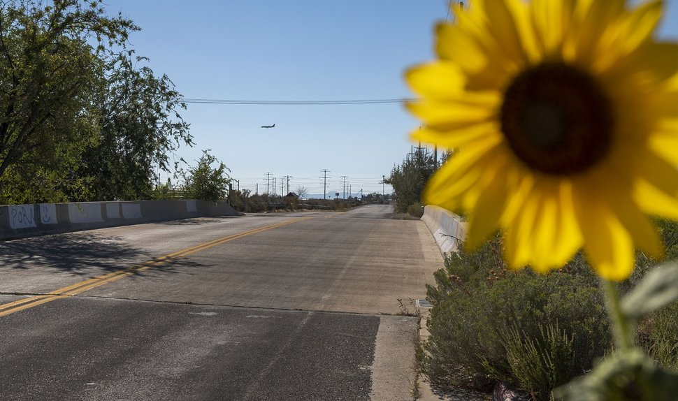 (Leah Hogsten   The Salt Lake Tribune) Developers want to build a large residential neighborhood on 350 acres near the Salt Lake City Airport. Salt Lake City officials and airport planners say the two developments along 2200 West will have a negative impact on residents' quality of life and air traffic.