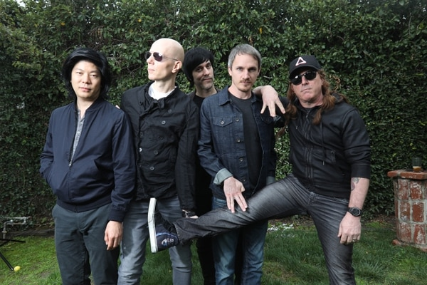 Courtesy photo A Perfect Circle, with guitarist Billy Howerdel second from left