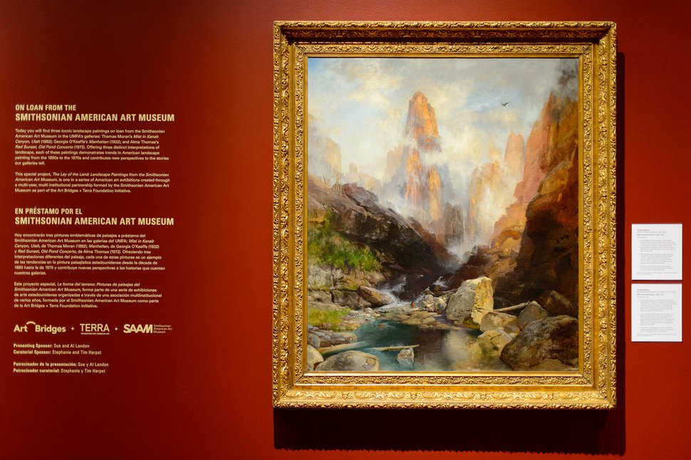 (Trent Nelson | The Salt Lake Tribune) Thomas Moran's