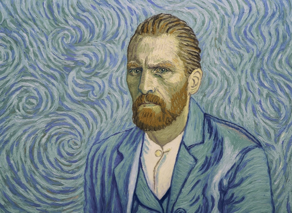 (Courtesy Good Deed Entertainment) Vincent Van Gogh (performed by Robert Gulaczyk) as seen in a self-portrait, in the animated drama