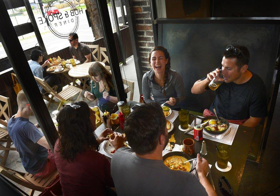 Scott Sommerdorf | The Salt Lake Tribune Hub & Spoke Diner in Salt Lake City