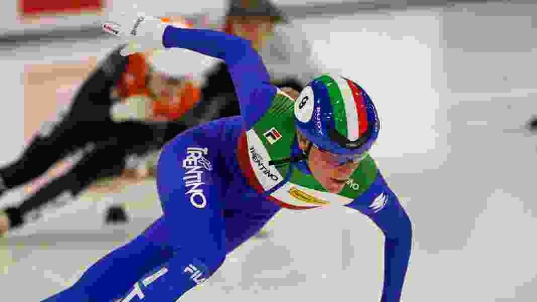 Team USA speedskaters trying to find their rhythm among world's best at ISU Short Track World Cup