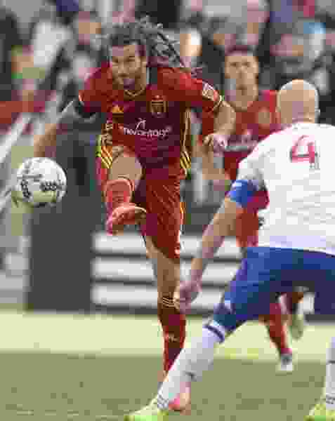 Real Salt Lake has submitted an appeal for Kyle Beckerman's red card