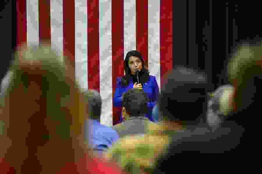 Tulsi Gabbard ends long-shot 2020 bid, gives support to Joe Biden