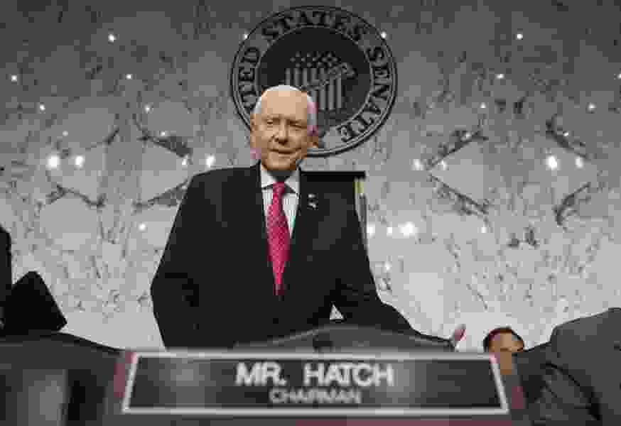 Rolly: Hatch a champion of the little guy? Give me a break, senator