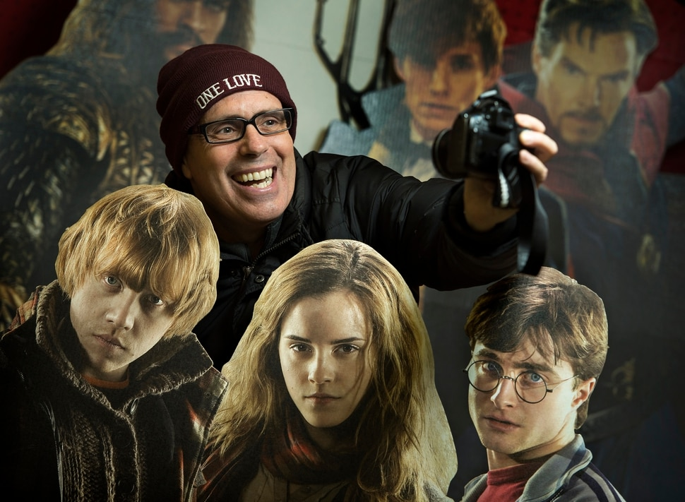 (Leah Hogsten | The Salt Lake Tribune) I think it's exciting, said Stuart Graves who admits he gets starstruck while attending Sundance. Graves has built a reputation since 2014 of taking selfies with Sundance celebrities. He uses a Canon 35mm, often ignoring the screen, aims the camera, shoots and hopes his framing is correct.