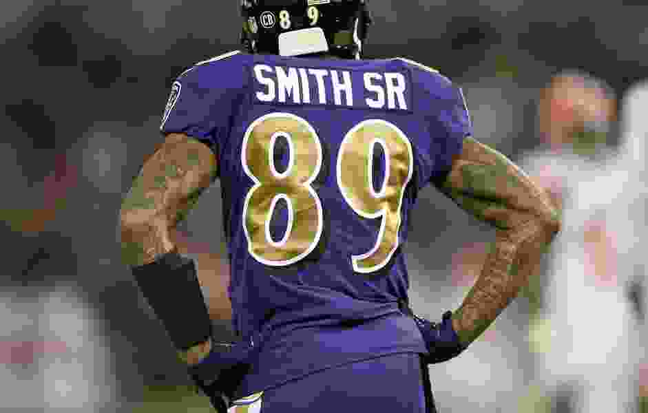 NFL: Former Ute Steve Smith re-signs with Ravens