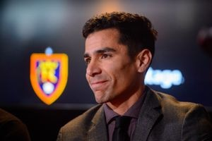 (Trent Nelson  |  The Salt Lake Tribune)Real Salt Lake Assistant General Manager Tony Beltran during a news conference at Rio Tinto Stadium in Sandy on Tuesday Dec. 3, 2019.