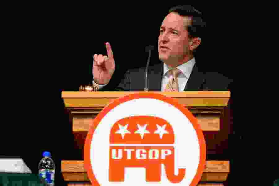 Newly elected Utah Republican chairman says the party is now out of debt