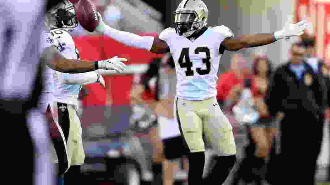 Former Ute Marcus Williams racks up six solo tackles to help Saints to playoff win over Panthers as local star of NFL Wild Card weekend
