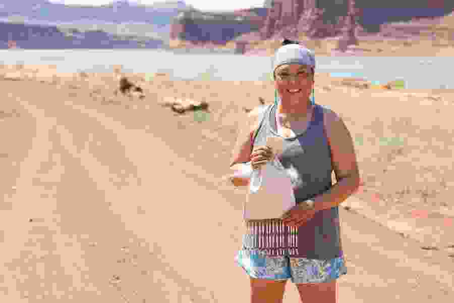 Monument Valley woman is running 330 miles across Utah with a piece of Bears Ears National Monument